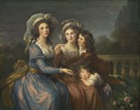 44-VIGEE-LE-BRUN-ELISABETH-The-Marquise-de-Pezay-and-the-Marquise-de-Rouge-with-Her-Sons-Alexis-and-Afrien-1787-1p