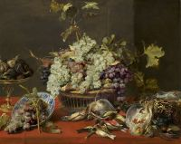 51-SNYDERS-FRANS-still-Life-with-Grapes-and-Grame-c1830-1p