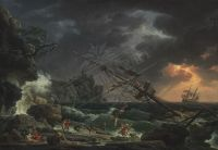 52-VERNET-CLAUDE-JOSEPH-The-Shipwreck-1772-1p